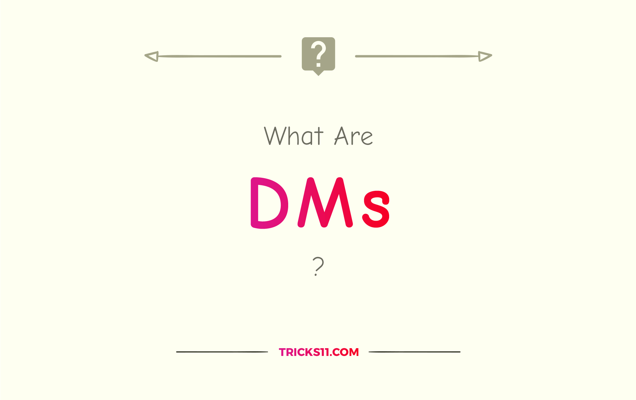 What Are DMS?
