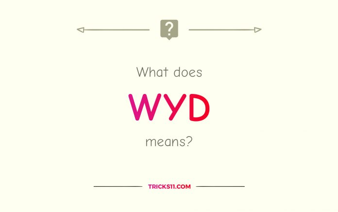 What Does WYD Mean?