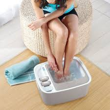 how to use scholl foot spa
