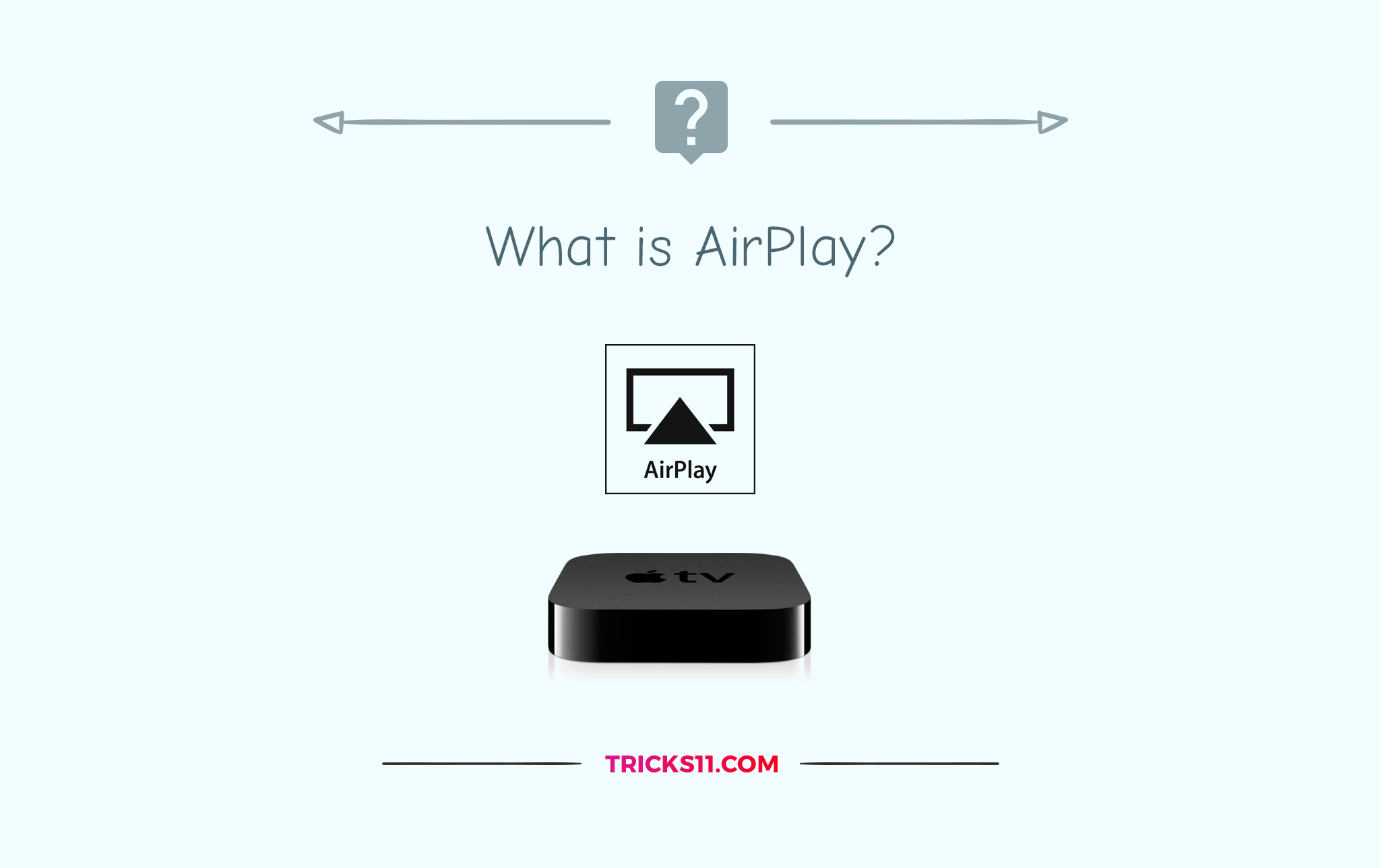 how to know if airplay is on