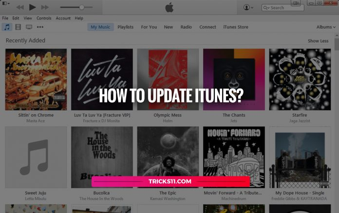 How To Update iTunes?
