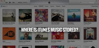 Where Is iTunes Music Stored?