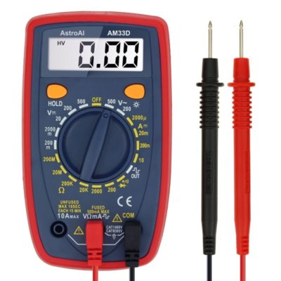 AstroAI Multimeter with Volt Amp & Diode Test
